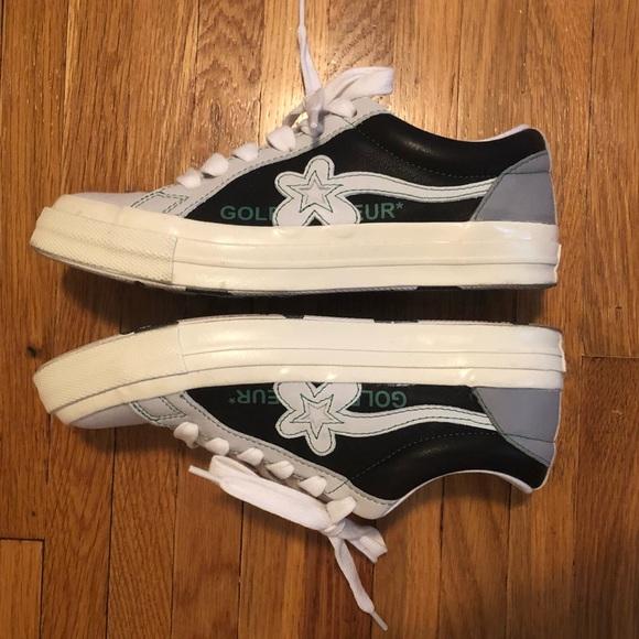 Converse Shoes Golf Le Fleur Black White Green Green Sneakers Poshmark
